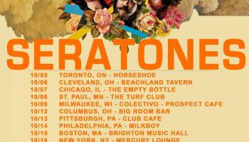 Seratones Continue Fall Tour, Announce December Dates
