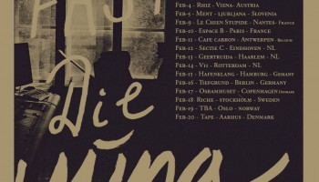 Yung announce a string of European tour dates