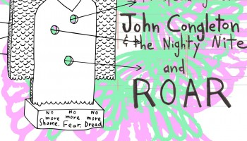 John Congleton & The Nighty Nite Announce August Dates With AJJ And ROAR