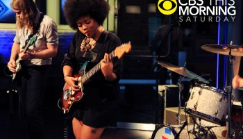 Watch Seratones' debut television performance on CBS This Morning