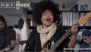 Watch Seratones play live on NPR's Tiny Desk