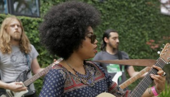 """Watch Seratones play a stripped down version of """"Don't Need It"""" live at SXSW/Saint Cecilia Hotel"""