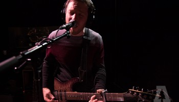 American Wrestlers records a live session with Audiotree